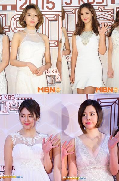 Usung Tema Putih, SNSD Tampil Seksi dan Anggun di KBS Gayo Daechukje