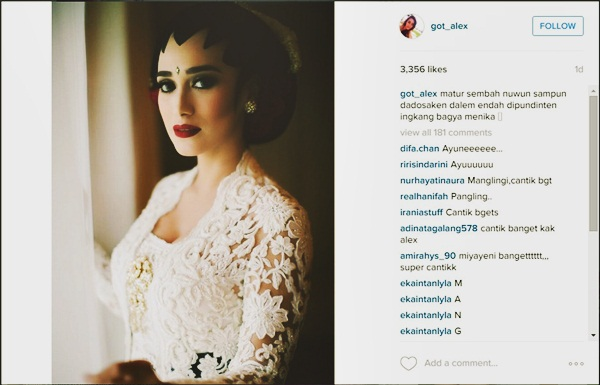 Alexandra Gottardo Gelar Akad Nikah secara diam diam