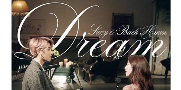 Baru Rilis, Suzy dan Baekhyun Ceritakan Manisnya Cinta dalam MV Dream