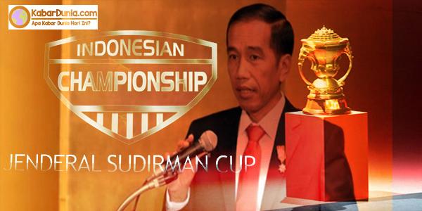 Presiden RI Hadiri Final Piala Jendral Sudirman