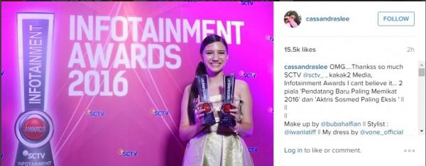 Daftrar Pemenang Infotaiments Awards 2016