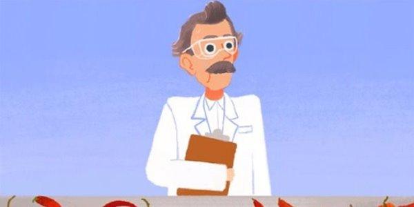 Kenang Sosok Wilbur Scoville, Google Buat Doodle Game Animasi Seru