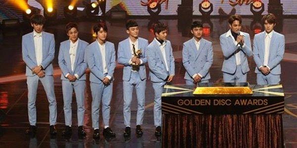 Menangi Daesang Golden Disk Awards Tiga Kali Beruntun, EXO Cetak Rekor!