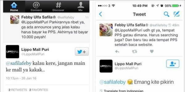Sebut Orang Kere Jangan Main Ke Mall, Lippo Mall Puri Dihujat Netizen