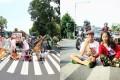 Trend Foto Telanjang Dada di Tengah Jalan, Kocak atau Memalukan?
