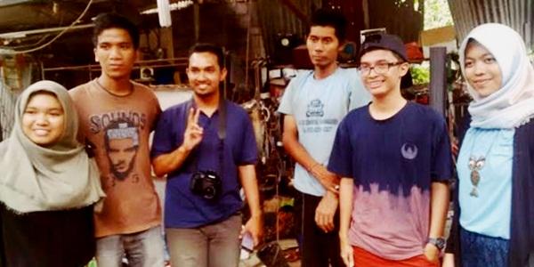 Mahasiswa UGM Pelajari Cara Kerja Tangan Robot Pak Wayan dari Bali