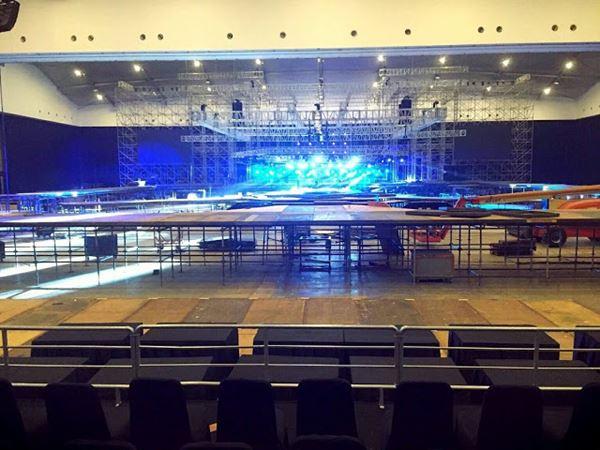 Inilah Panggung untuk Konser EXO PLANET #2 The EXO'luXion Malam Nanti!