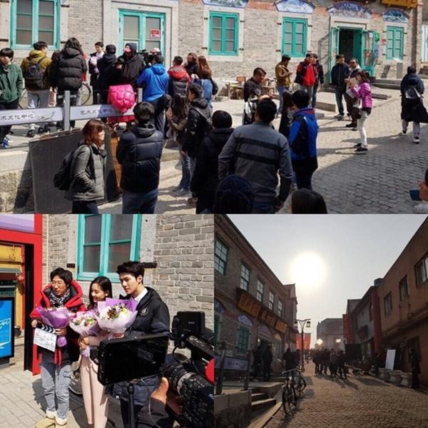 Bintangi 'I Love Catman', Foto Syuting Sehun EXO Banjir Dukungan