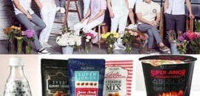 Makanan dan Minuman bermerek selebriti SM Entertaiment