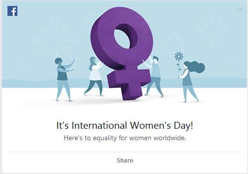 Facebook dan Google Berlomba Peringati Hari Perempuan Internasional 2
