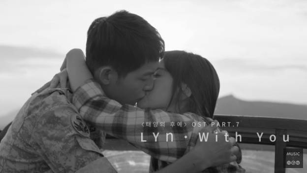 Rilis MV 'With You', Joong Ki Cium Mesra Hye Kyo di OST 'Descendants'