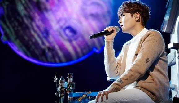 """Konser Solo, Ryeowook Super Junior Kembali Lantunkan """"Bunga Terakhir"""""""