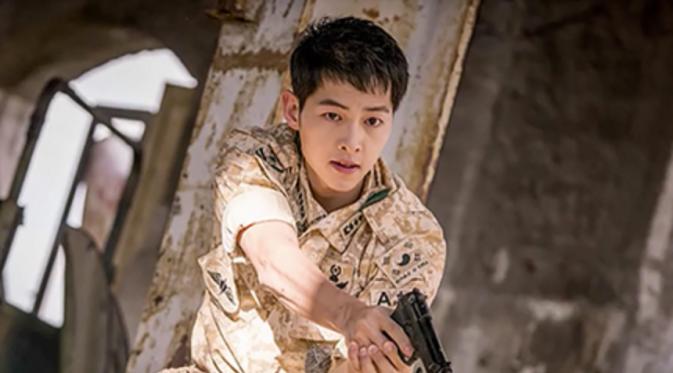 Song Joong Ki Jago Nge-rap