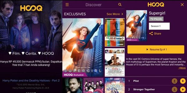 Bakal Jadi Saingan, Ini Keunggulan Hooq Dibandingkan Netflix