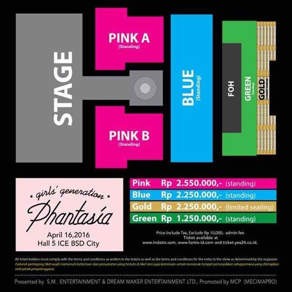 Besok Lusa Konser Phantasia SNSD, Inilah Harga Tiket Konsernya