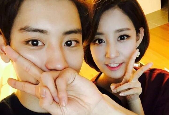 Kakak Cantik Chanyeol EXO Terpilih Sebagai Anchor YTN KabarDunia.com_Chanyeol-EXO-Park-Yoora_Chanyeol EXO