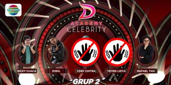 Hanya 3 Suara, Yeyen Lidya yang Tesenggol dari D'Academy Celebrity