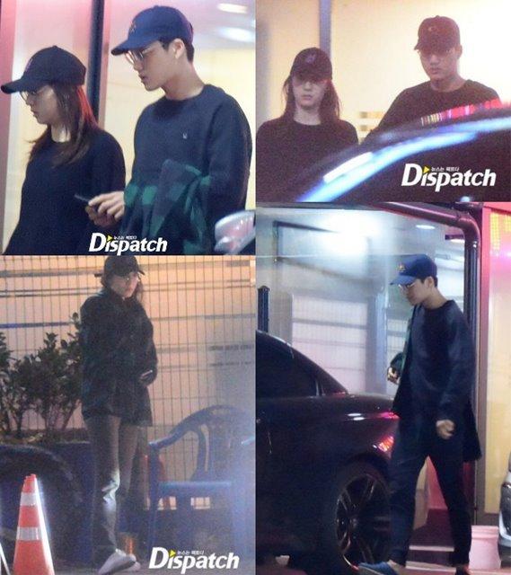 Krystal f(x) dan Kai EXO Kepergok Kencan, Fans Harap Bukan April Mop
