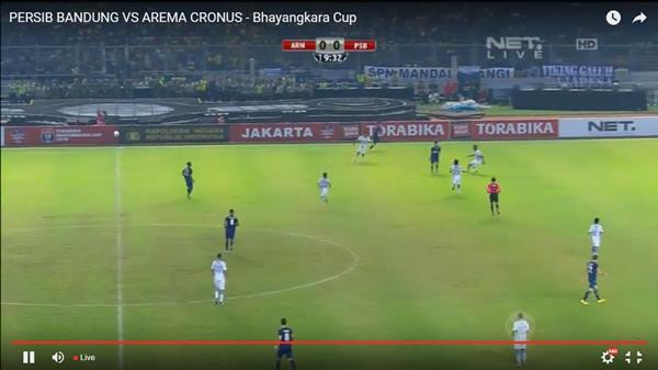 Nonton TV Online – Live Streaming AREMA Vs Persib Siaran Langsung Final Piala Bhayangkara 2016 Minggu 3 April
