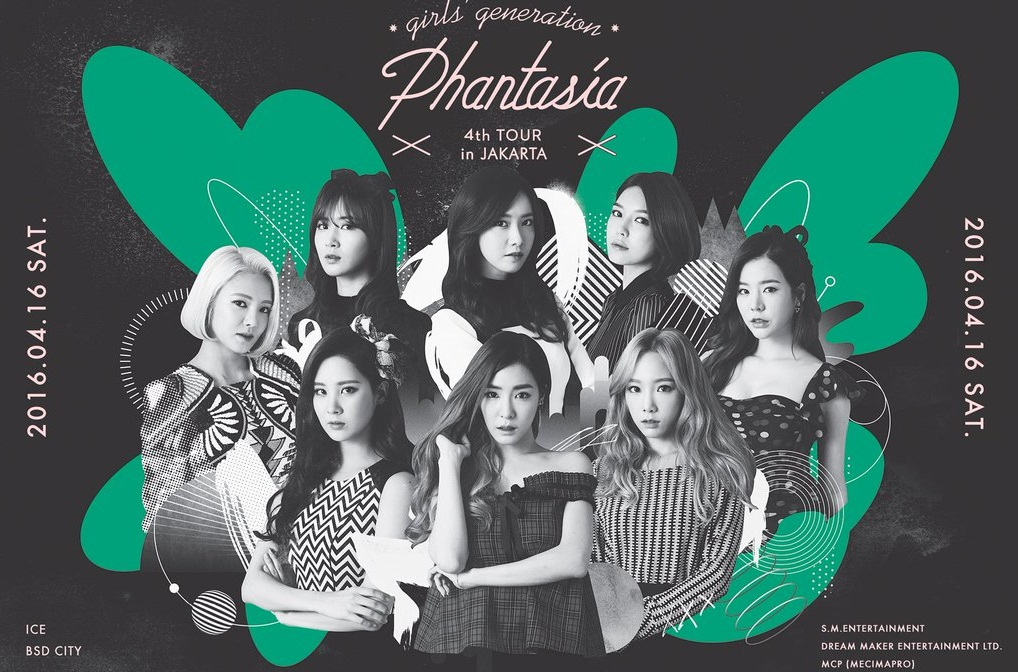 GIRLS' GENERATION 4th TOUR-Phantasia in Jakarta