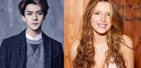 Ulang Tahun Sehun EXO Dirayakan Fans Via Sosial Media, Bella Throne Ikut Merayakan?