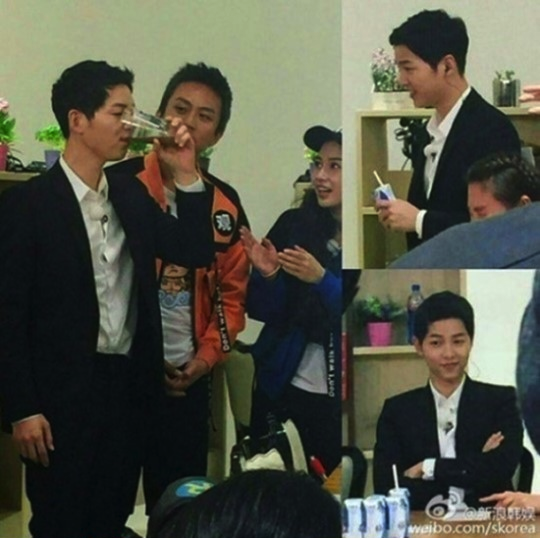 Joong Ki syuting Hurry Up Brother