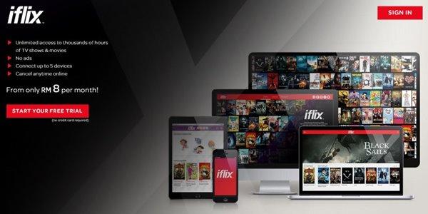 Telkom Gandeng Iflix, Nasib Netflix di Indonesia Makin Tak Pasti