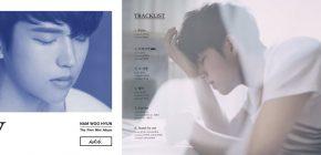 """Album Debut Solo Woohyun INFINITE """"Write"""" Sentuh Penjualan 50 Ribu Copy"""