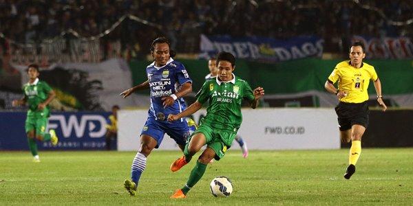 Main di Kandang, Bhayangkara Surabaya United Bantai Persib Bandung 4-1