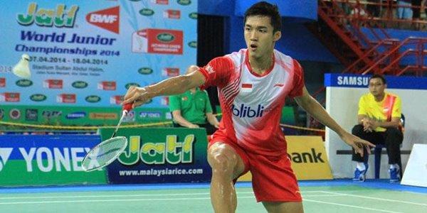 Tampil Impresif, Jonatan Christie Pecundangi Lin Dan di Indonesia Open