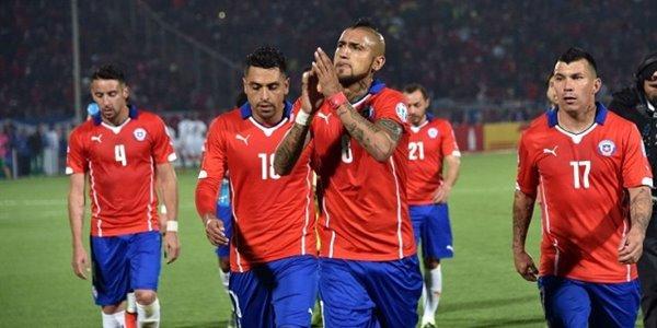 Tampil Menggila, Chile Gelontor Gawang Meksiko 7 Gol Tanpa Balas