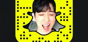 Kevin Woo U-KISS Bergabung Dengan Snapchat!