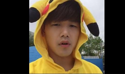 Terserang Demam Pokemon Go, Eric Nam Cosplay Jadi Pikachu