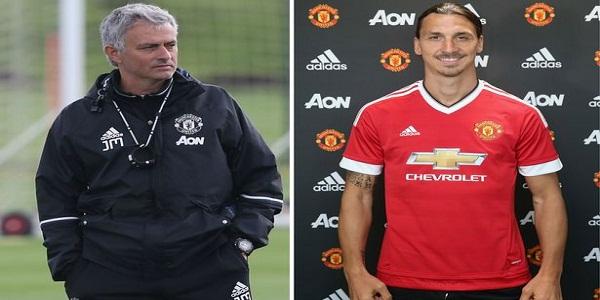 ibra dan mourinho reuni di Manchester United