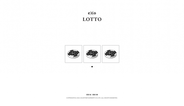 "EXO Pose Bernuansa Black White di Teaser Individu ""LOTTO"""