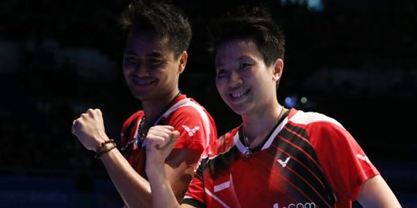 Ganyang Malaysia, Liliyana Natsir dan Tantowi Ahmad Raih Medali Emas