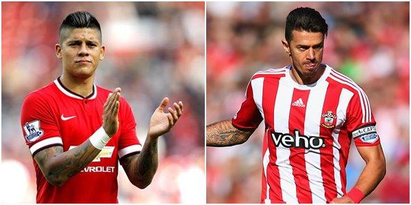 MU Siapkan Marcos Rojo dan Uang Guna Bajak Jose Fonte dari Southampton