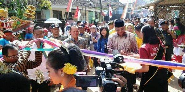 Pembukaan dan Peresmian Pameran Potensi Desa Wisata di Kab. Malang