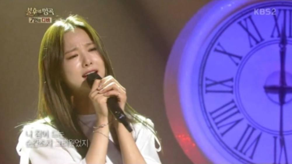Tampil di 'Immortal Song', Solji EXID Nangis Kepikiran Ibu