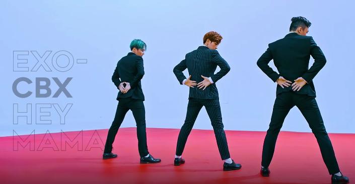 Sempat Puncaki Chart Musik EXO-CBX Raih 3 Juta View YouTube KabarDunia.com_EXO-CBX-Hey-Mama-V_EXO-CBX