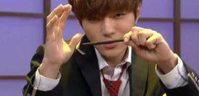 """L, Woohyun, Yoo Se Yoon Perang Aegyo """"PPAP"""" di 'SNL Korea 8'"""