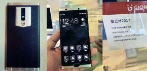 Ngeri, Smartphone Gionee M2017 Usung Baterai 7000 mAh dan RAM 6GB!