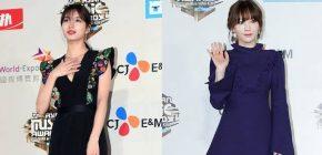 Tampil Simpel di Red Carpet MAMA 2016, Cantik Mana Suzy atau Tae Yeon?