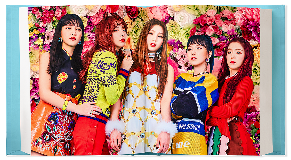 "Dua Hari Rilis ""Rookie"" Red Velvet Chart Album Worldwide KabarDunia.com_red-velvet-group_Red Velvet"