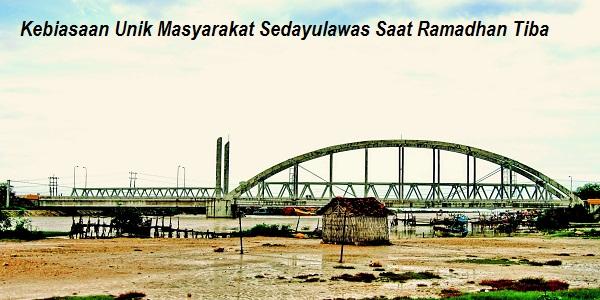 KabarDunia.com_Kegiatan-Unik-Masyrakat-Desa-Sedayulawas-Saat-Ramdhan_