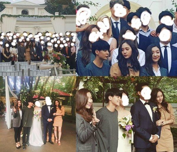 Foto Amber dan Krystal f(x) di Pernikahan Manajer Dikritik, Kenapa