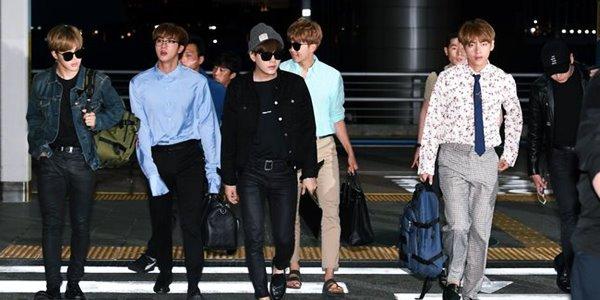 BTS Tiba Di L.A Untuk AMA, Jadwal Sibuk Menanti