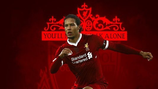 KabarDunia.com_VVD-penyebab-kekalahan-The-Red-atas-The-Swans_virgil van dijk liverpool loser against the swansea