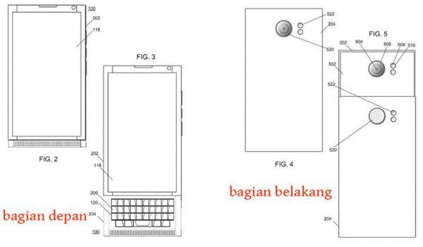 Dapat Paten, Blackberry Pamer Konsep Smartphone Kamera Canggih 2
