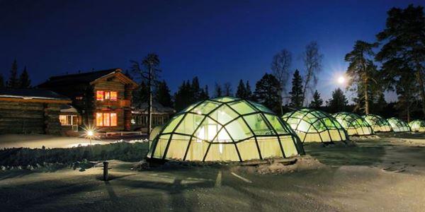 Kakslauttanen Arctic Resort – Igloos KabarDunia.com_Kakslauttanen-Arctic-Resort-–-Igloos_Hotel unik